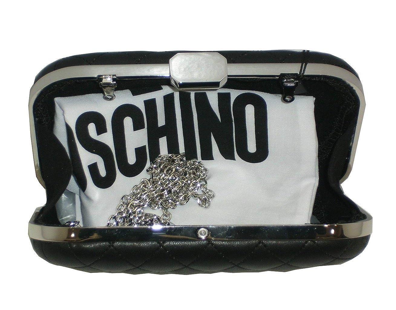Love Moschino Bolsa de noche Pochette R/ígida jc4319pp05/Negro