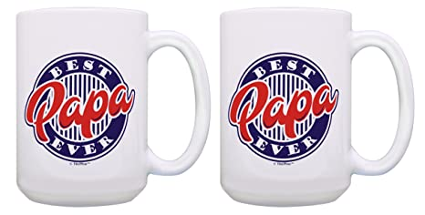 Papa Birthday Gifts Best Ever Coffee Mugs From Daughter Son Or