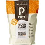 Peetz Gluten Free Flour S.M.A.R.T Blend One To One Baking Flour | 60% Whole Grains And Seeds | All Purpose Mix For Bread, Piz