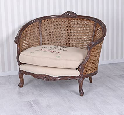 Vintage Sofa Chateau Sessel Shabby Chic Sitzbank Couch ...