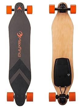 MAXFIND Dual Motor Electric Skateboard Longboard