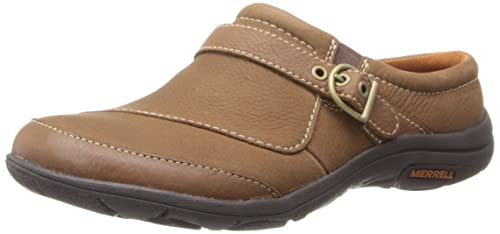 Merrell Women's Dassie Slide Slip-On Shoe, Oak, ...
