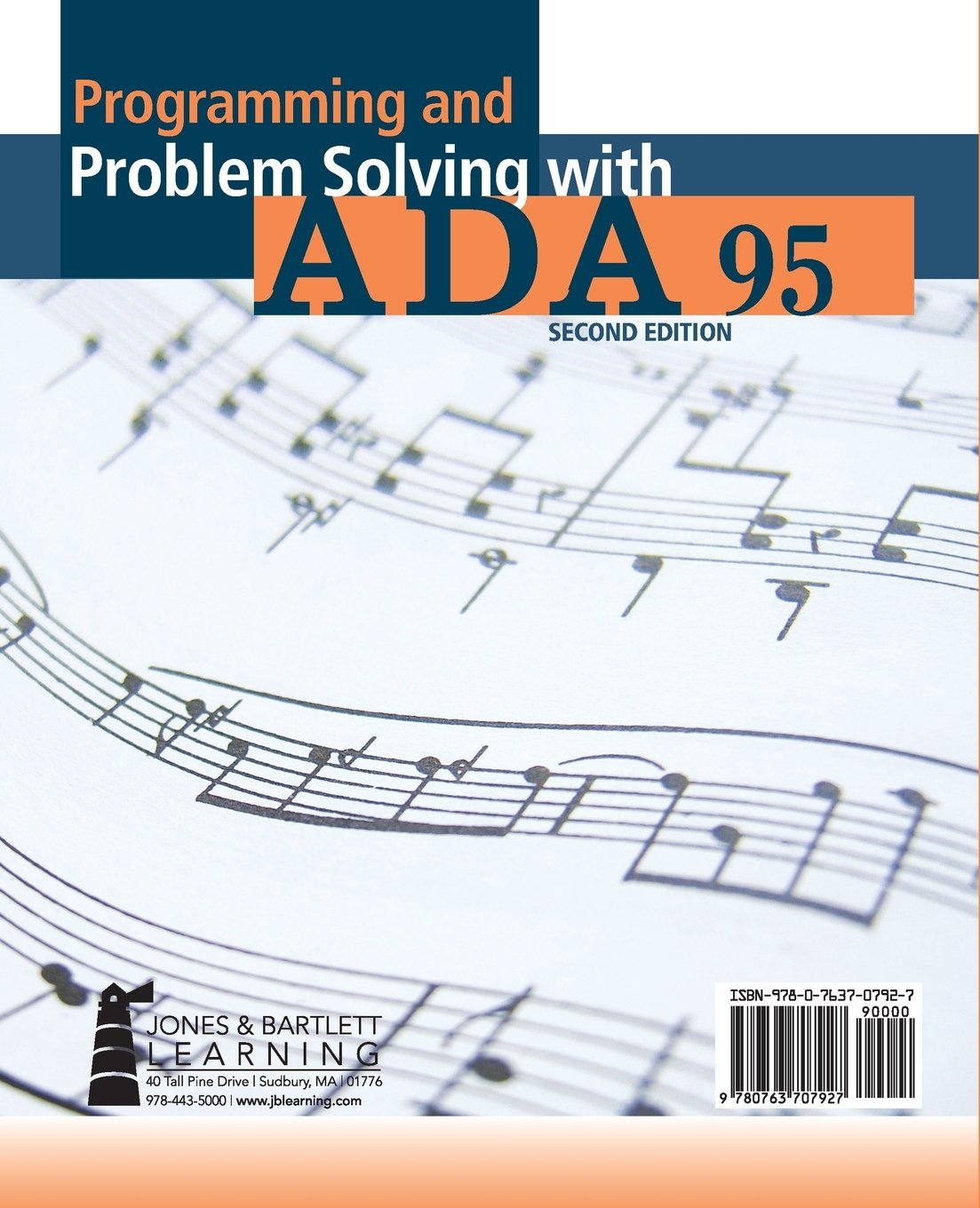 Amazon programming and problem solving with ada 95 amazon programming and problem solving with ada 95 9780763707927 nell b dale chip weems john w mccormick books fandeluxe Images