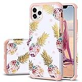 iPhone 11 Pro Max Case, Fingic Pineapple Design