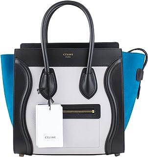 92af6694b Celine Multi-Color Leather Micro Luggage Shoulder Handbag