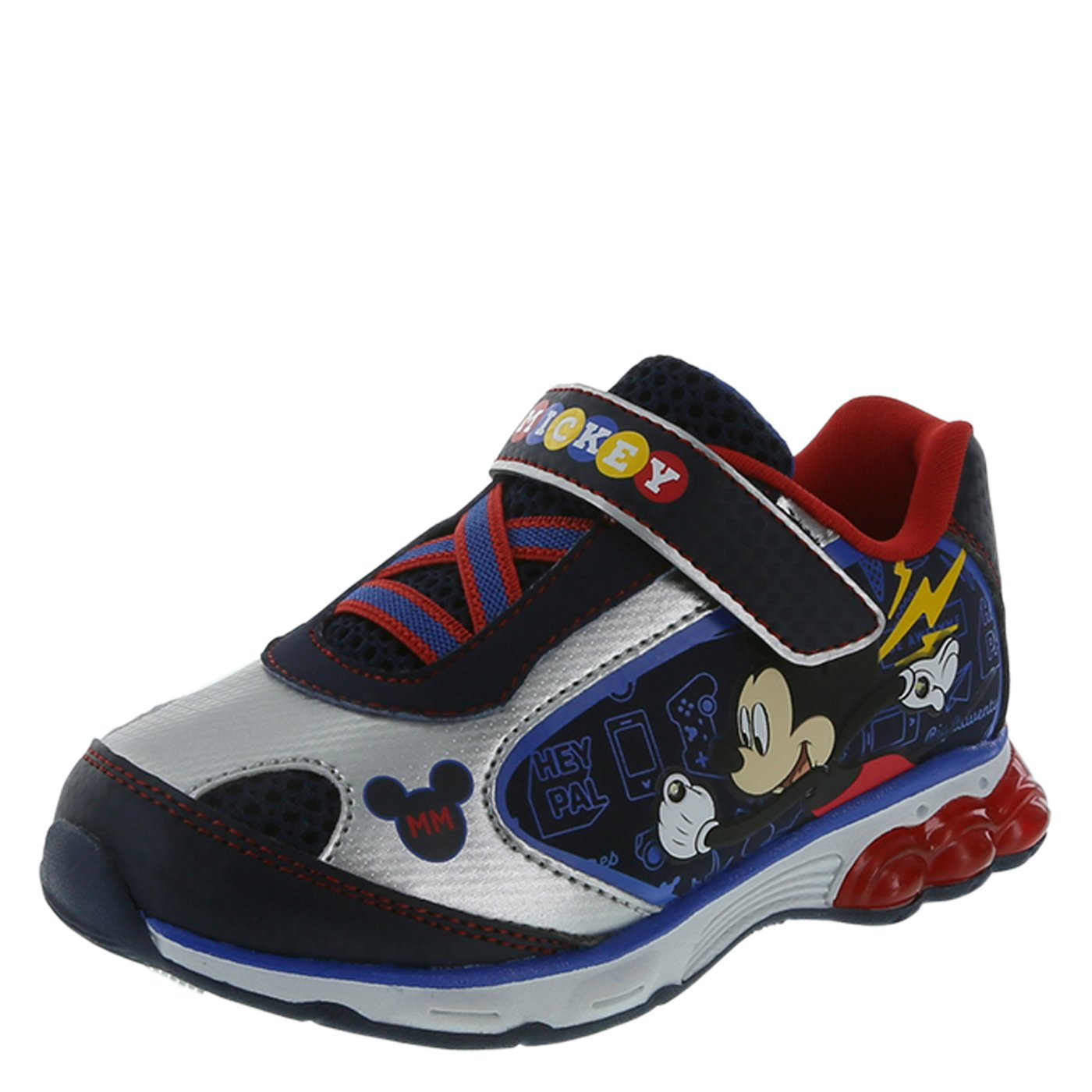 Mickey Mouse Clubhouse Boys' Toddler Mickey Mouse Lighted Runner 079638-Parent
