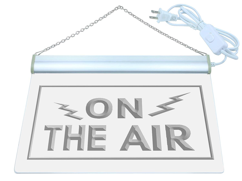 Cartel Luminoso ADV PRO i066-b ON THE AIR Radio Recording Studio Light Signs