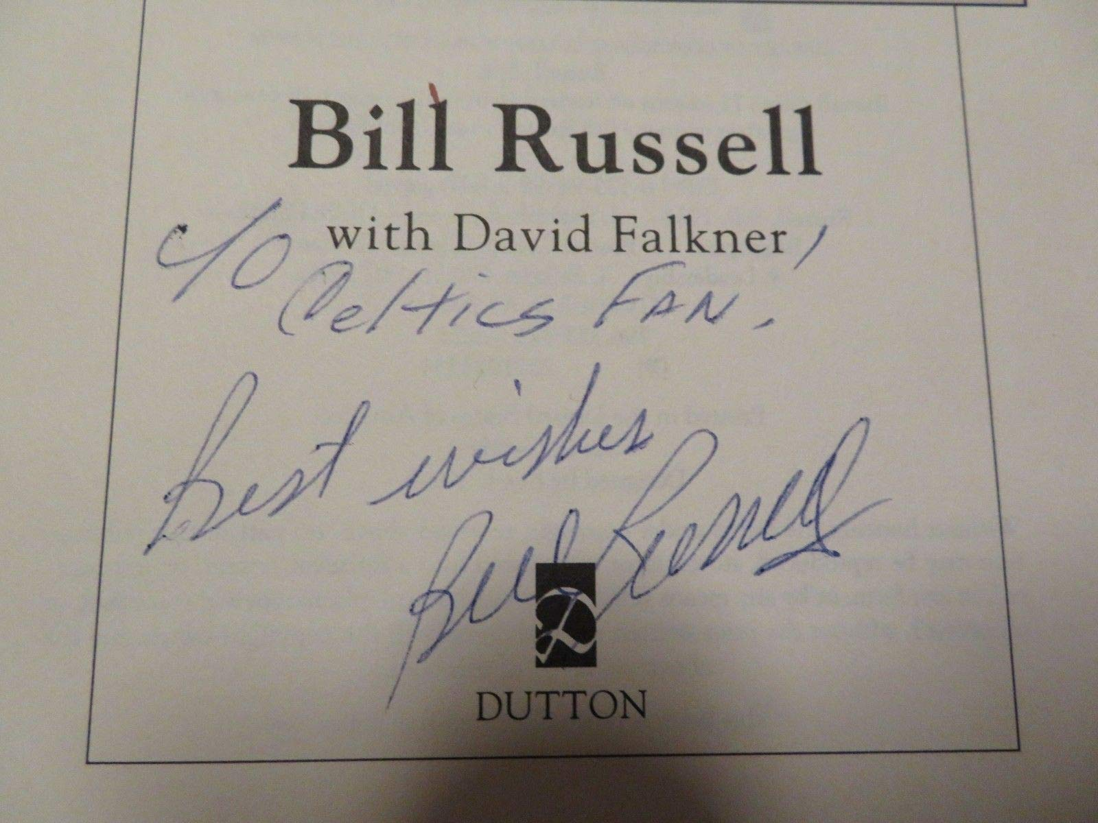 Hofer Bill Russell Autographed Signed Russell Rules 1St Edition 2001 Book Memorabilia PSA/DNA Boston Celtics