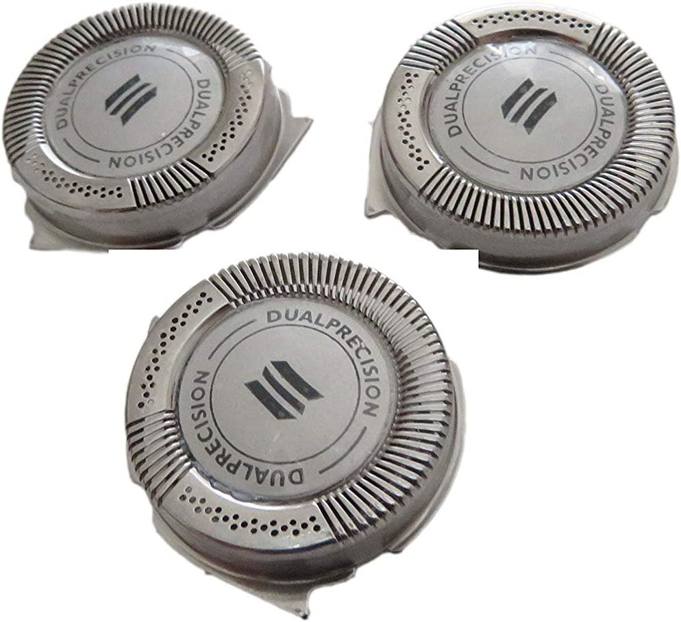 3 pcs Replacement Shaver Head for Philips Norelco Spectra HQ8 HQ6073 HQ7120 PT735