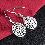 Skyllc® Boucles d'oreilles en forme de crochet en forme de crochet design unique pour pendentifs pour femmes et filles