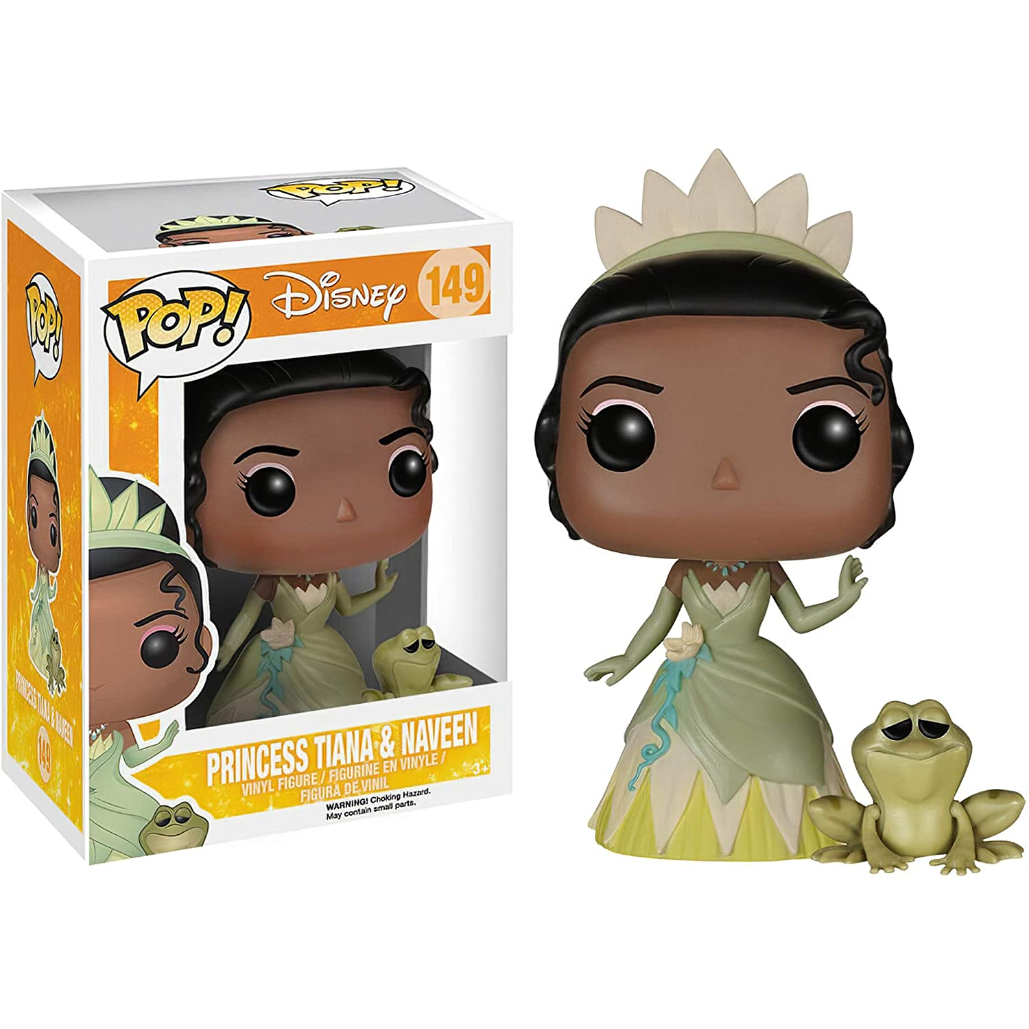 Disney Vinyl Figure /& 1 PET Plastic Graphical Protector Bundle Funko Princess Tiana /& Naveen: The Princess and The Frog x POP #149 // 05087 - B BCC9404248
