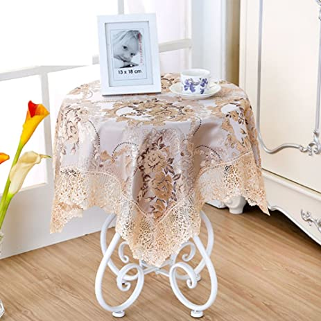 Round bedside table covers image collections table decoration ideas cloth side covered drape amazon bedside table clothlong founder square small round bedside table clothlong founder square small round table watchthetrailerfo