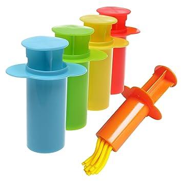 BCP Assorted color arcilla y Dough Kit de herramientas con modelos y moldes para bebés de los niños: Amazon.es: Juguetes y juegos