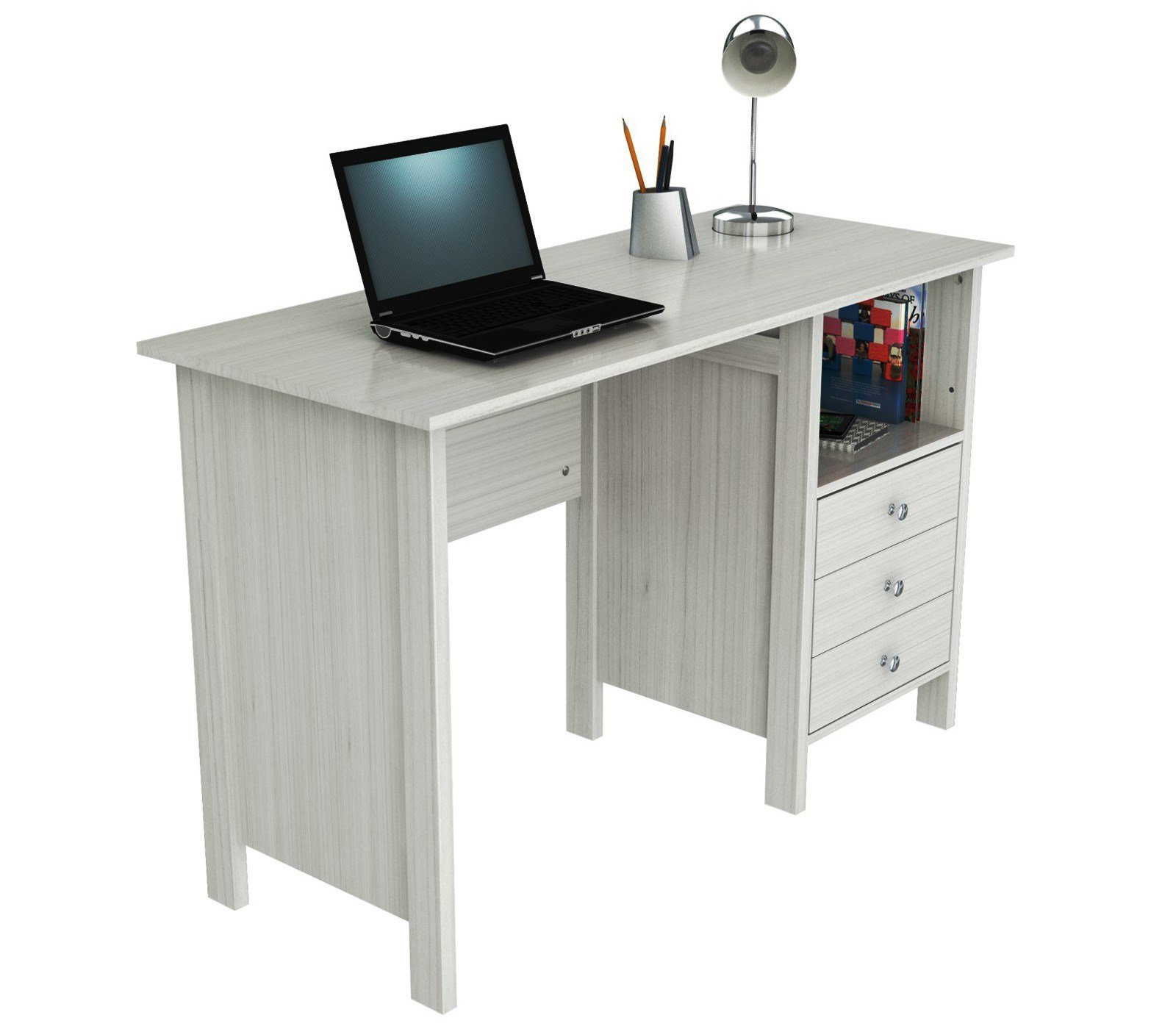 Inval ES 3303 Laura Collection Computer Desk by Inval America (Image #7)