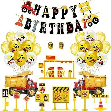 35 Piezas Decoracion Cumpleaños Globos de Feliz Cumpleaños ...