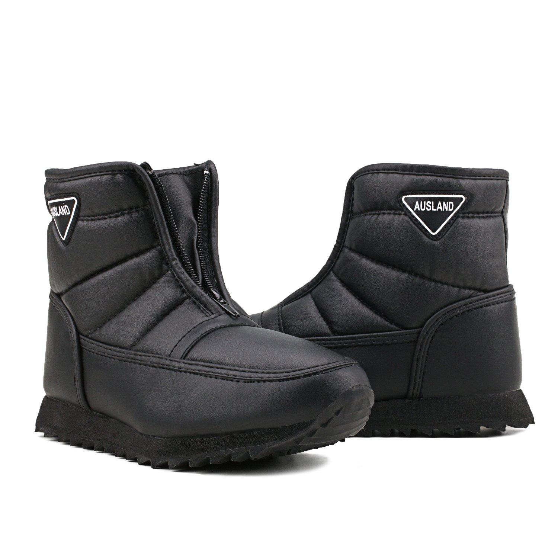 c2fe12529e4 Shenji Zapatos de Mujer de Invierno - Botas de Nieve Por Encima del Tobillo  No Al Becerro H1035  Amazon.es  Zapatos y complementos