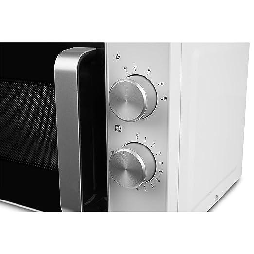 Medion (MD18041) kompakt Mikrowelle mit 700 Watt & 20 L Kapazität ...