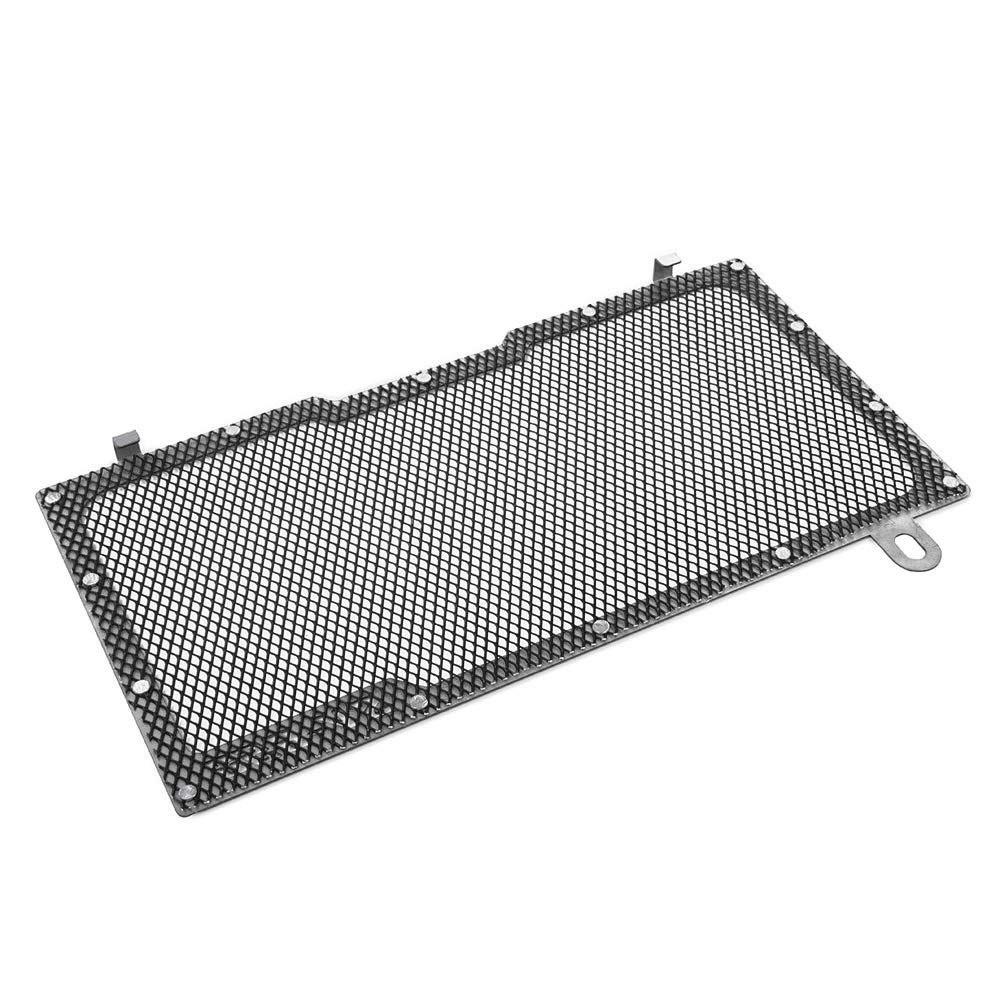 XX eCommerce Motorcycle Motorbike Radiator Guard Water Tank Coolant Grill Grille Net Cover Protector for 2016-2018 S-u-z-u-k-i SV 650 SV650 2017 Black