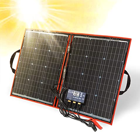 DOKIO 80 watt 12 volt Folding Solar Panel