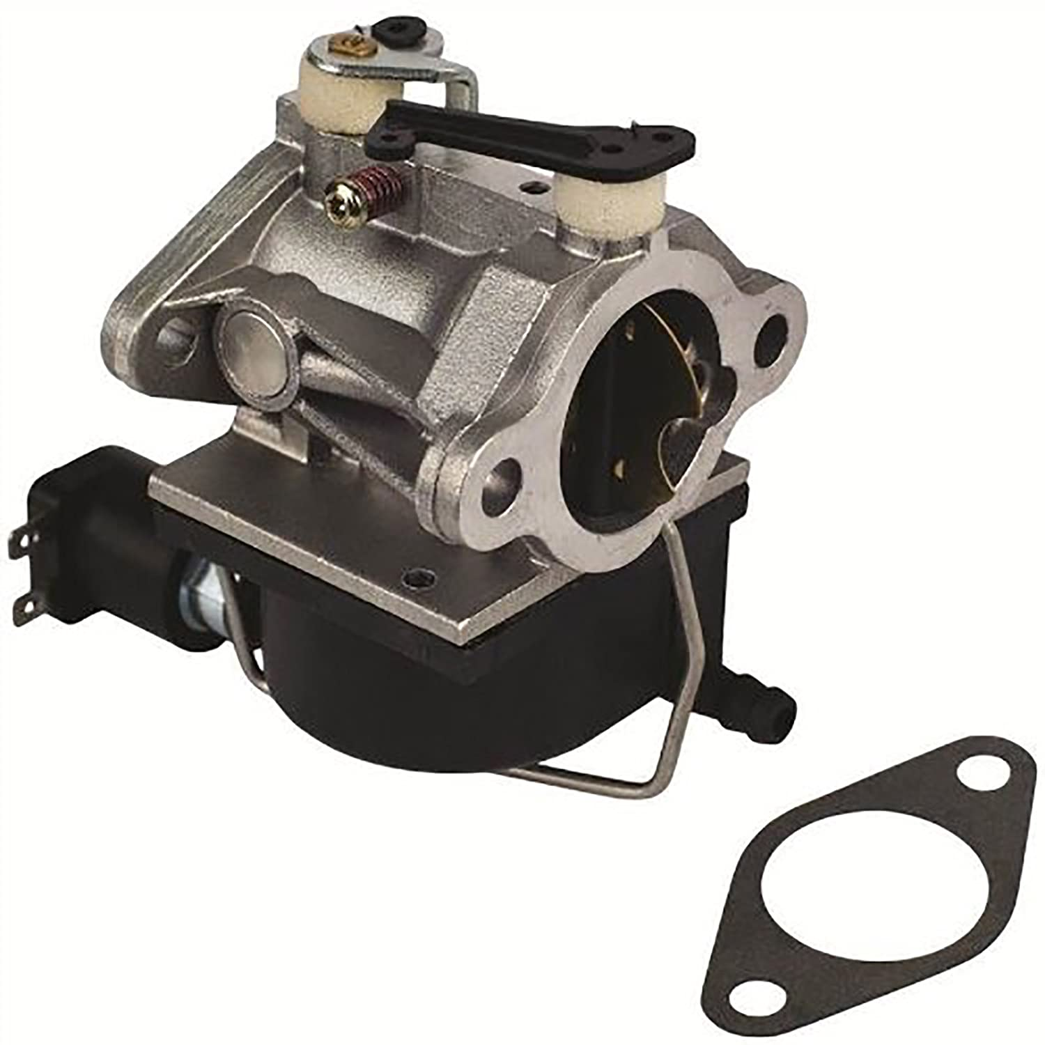 Carburetor Diagram Parts List For Model H6075506n Tecumsehparts All 640330 640330a Tecumseh Includes Fuel Shut Off Solenoid Garden Outdoor