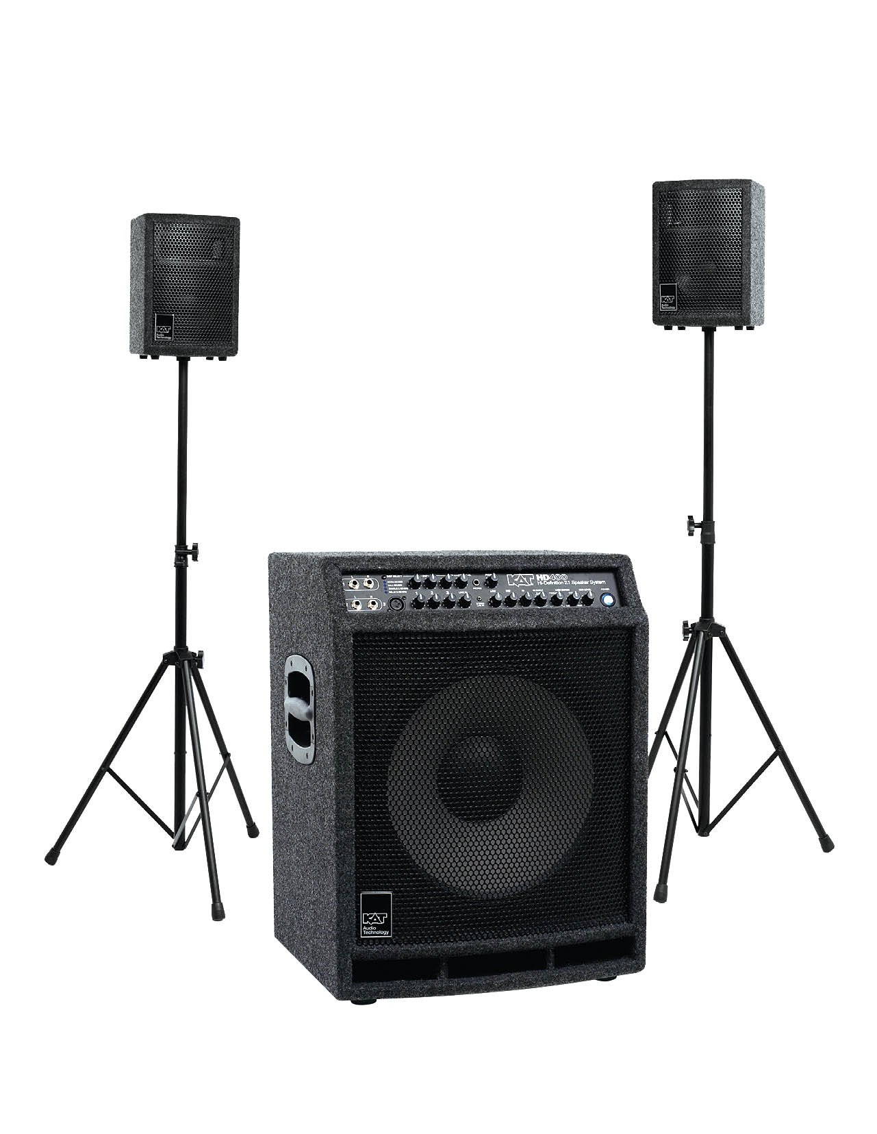 KAT Percussion 400 Watt 2.1 Stereo Drum Sound System by KAT Percussion (Image #1)