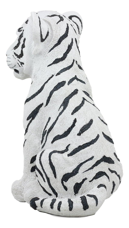 Ebros - Figura Decorativa de Resina de Tigre Blanco de Tigre de ...