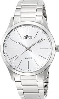 266fd66f25dc Lotus Reloj Analógico para Hombre de Cuarzo con Correa en Acero ...