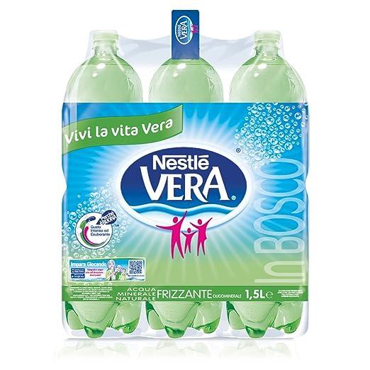 49 opinioni per Nestlé Vera In Bosco Acqua Oligominerale Frizzante, 1.5 Litri, 6 Pezzi