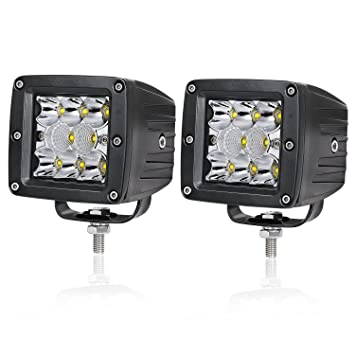 Amazon led pods akd part 2pcs 80w led cubes 4 inch led light led pods akd part 2pcs 80w led cubes 4 inch led light bar triple row aloadofball