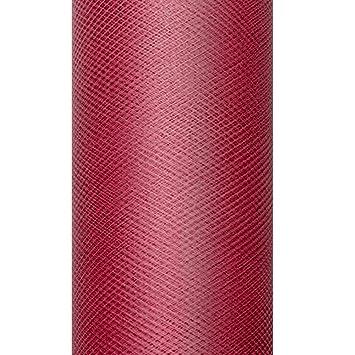Dekoband T/üll 8 cm x 20 m braun T/üllstoff Dekostoff Geschenkb/änder Schleifenband Gastgeschenke