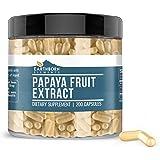 Papaya Fruit Extract, 200 Capsules, 400 mg Serving, Pure, Potent & Natural, No Rice Filler, No Stearates, No Additives…