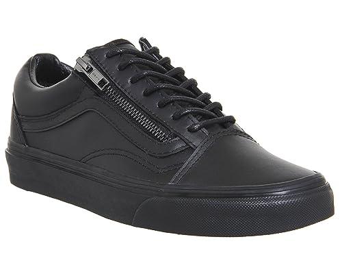 e7817c41de Vans Old Skool Zip (Gunmetal) Mens Skateboarding-Shoes VN-018GJTL 4.5