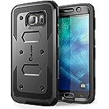 Coque Galaxy S6 , [ Armorbox ] i- Blason construit en [ Protecteur d'écran ] [ Full body ] [Heavy Duty protection ] Shock Reduction [ COIN PARE-CHOC ] pour Samsung Galaxy S6