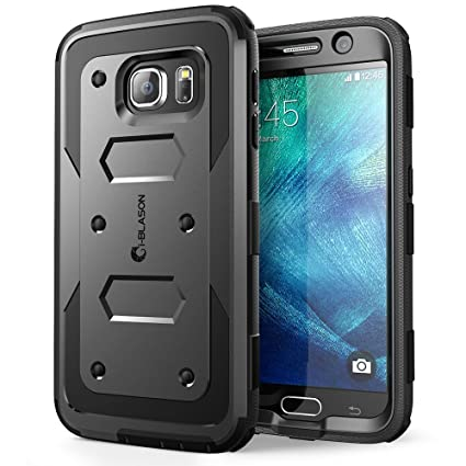 sports shoes e6f8a bc3cf Galaxy S6 Case, [Armorbox] i-Blason built in [Screen Protector] [Full body]  [Heavy Duty Protection ] Shock Reduction[Bumper Corner] for Samsung Galaxy  ...
