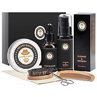Deals on Xikezan Upgraded 7 in 1 Beard Growth Grooming Kit