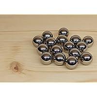 50 unidades de bolas de acero cromado de calibre .50 en calidad industrial G28, ajuste perfecto para HDR HDP