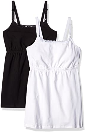 c53983a1dd Loving Moments Fitted Camisole W Lace Neck 2 Pack