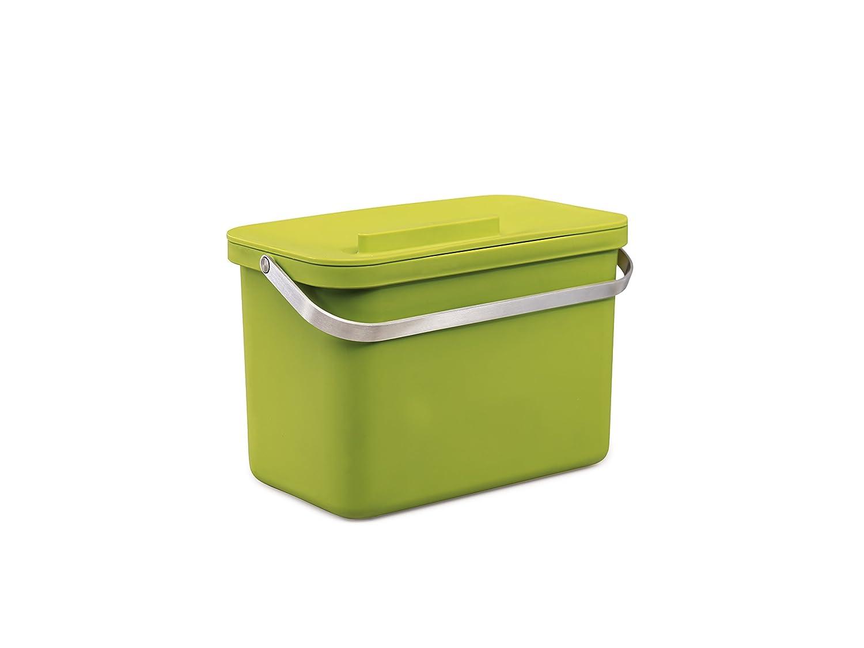 joseph joseph intelligent waste totem 4 food waste caddy green amazoncouk kitchen u0026 home