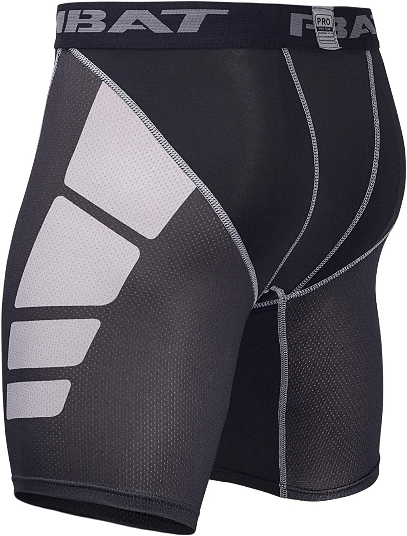Hivexagon Men Compression Shorts Hunter Pro Gym Sportwear Pants Half Tights