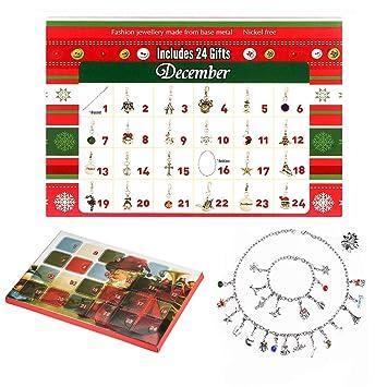 cb0350a544b6 Mayzo 2018 Advent Calendars for Kids Girls,DIY Necklace Bracelet Set ...