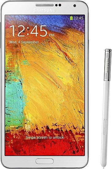 Amazon Com Samsung Galaxy Note 3 N900a Unlocked Cellphone 32gb White