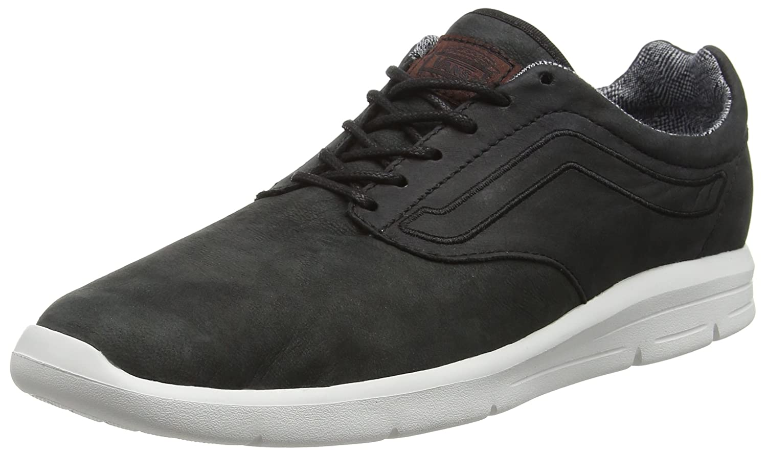 Vans ISO 1.5, Zapatillas Unisex Adulto 45 EU|Negro (Suiting Black/Blanc de Blanc)