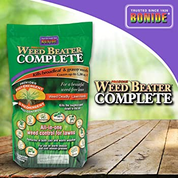 Bonide Complete Post and Pre Emergence Granular Weed Killer