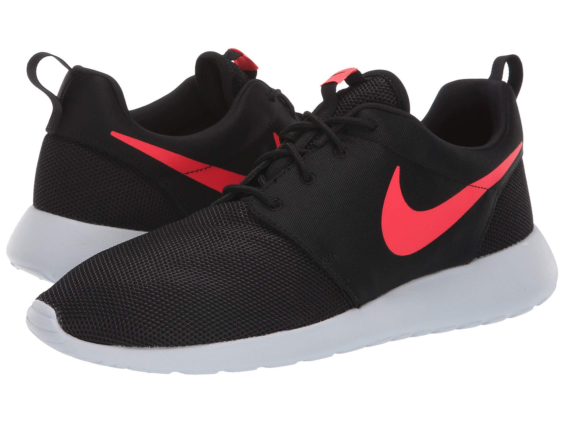 best website cd49b 96c72 Galleon - Nike Men s Roshe One Shoe Black Solar Red Pure Platinum Size 9 M  US