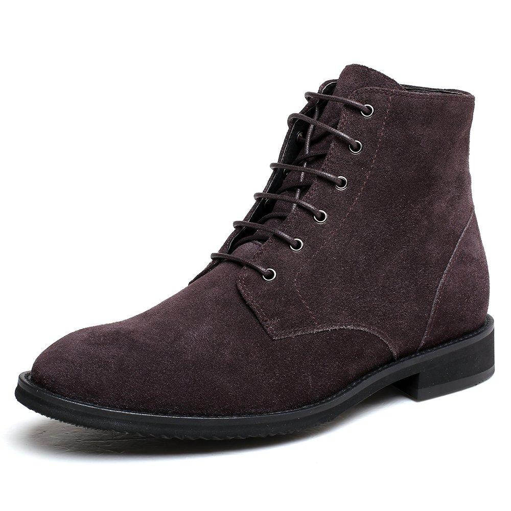 CHAMARIPA Herren Chelsea Stiefel Elevator Schuhe Stiefel Grau Aufzug- L72B25Y072D