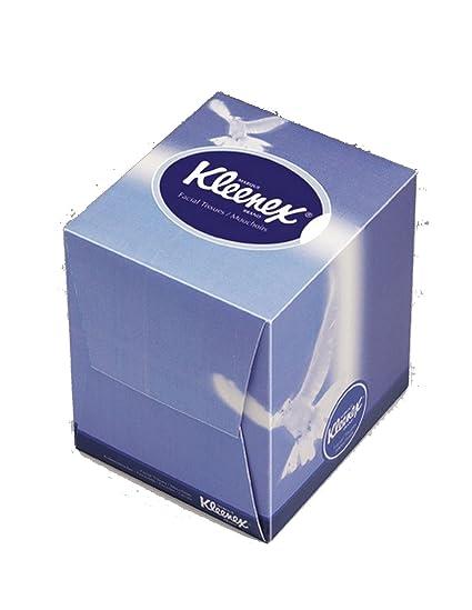 Kleenex Cube - Pañuelo facial (caja de 90 unidades)