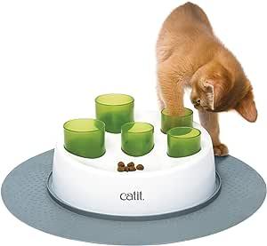 Catit Food Digger, White/Green