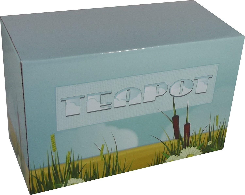Amazon.com: Caravan decorativo de cerámica tetera por ...