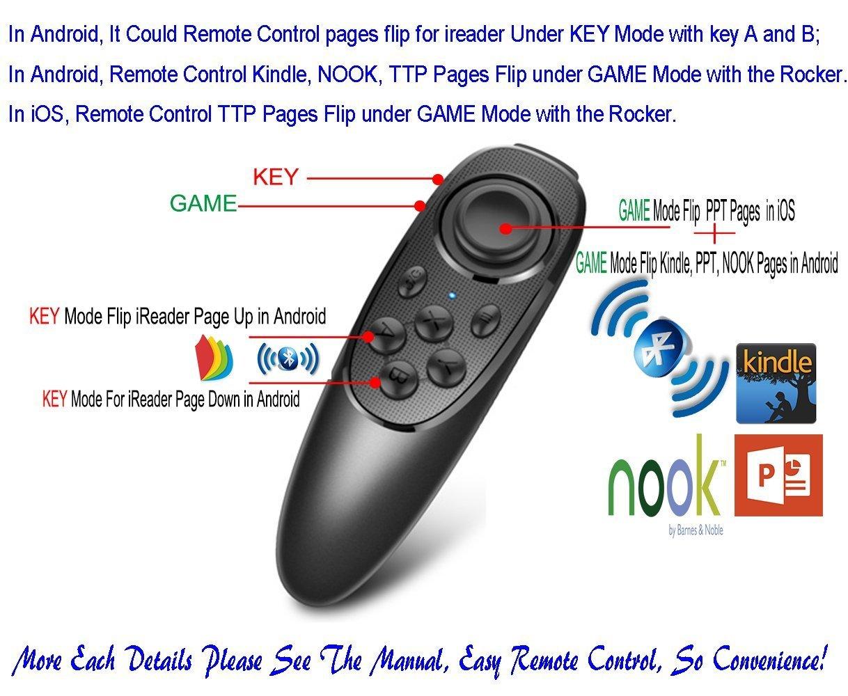 Amazon.com: Universal Gamepad remoto inalámbrico con 2 ...