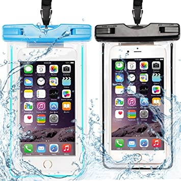 Caselover 2X Funda Móvil Impermeable, Bolso Sumergible Waterproof ...